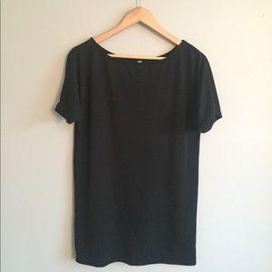 Dresses & Skirts - Black T Shirt Dress